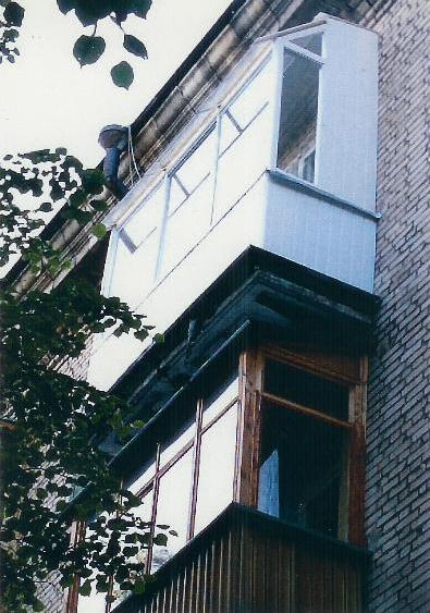 """ФотогалереЯ """"наши работы - остекление лоджии, балкона раздви."""